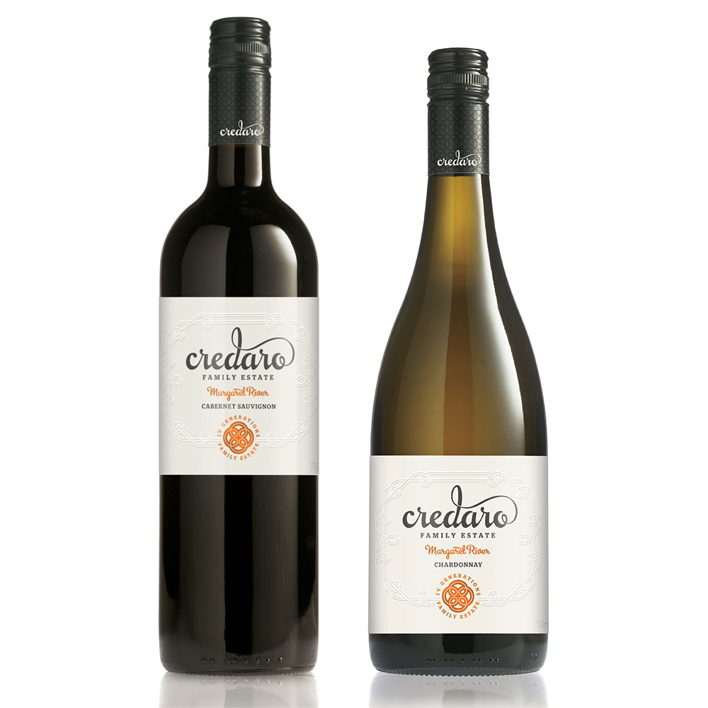 Credaro Family Estate – Cabernet Sauvignon and Chardonnay