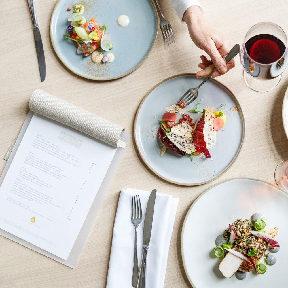 Post Restaurant – Menu Design