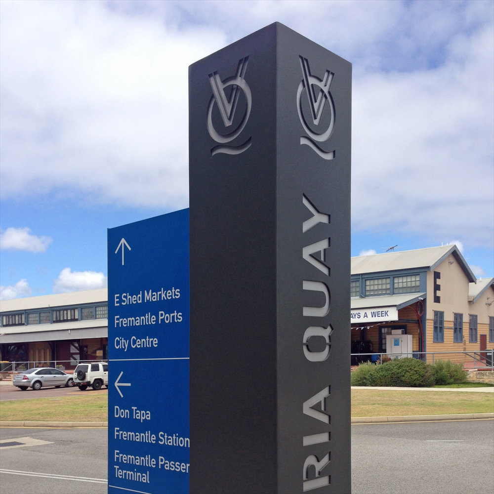 Victoria Quay – Wayfinding Signage