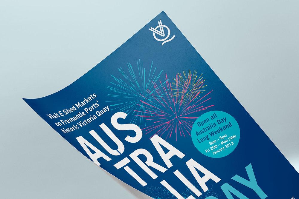 Victoria Quay – Australia Day Poster