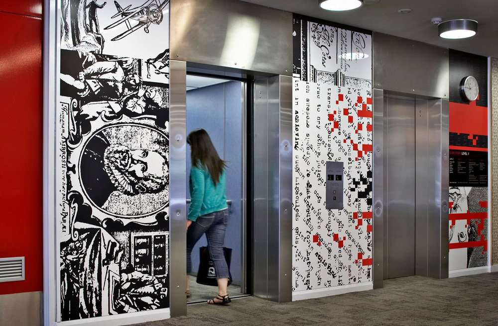 ECU Library – Wall Graphic