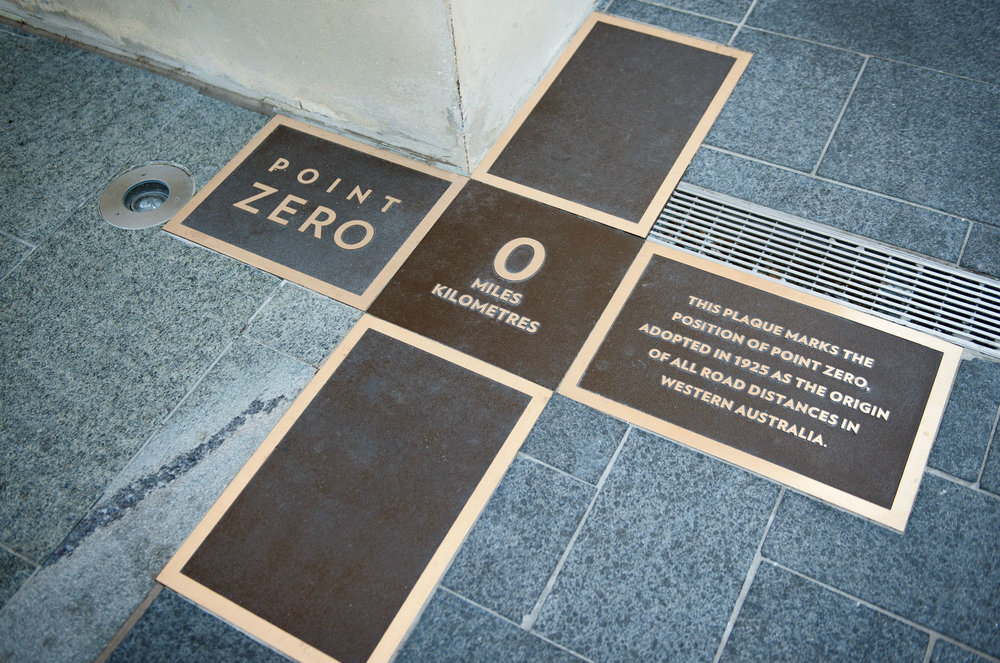COMO The Treasury – Point Zero Signage