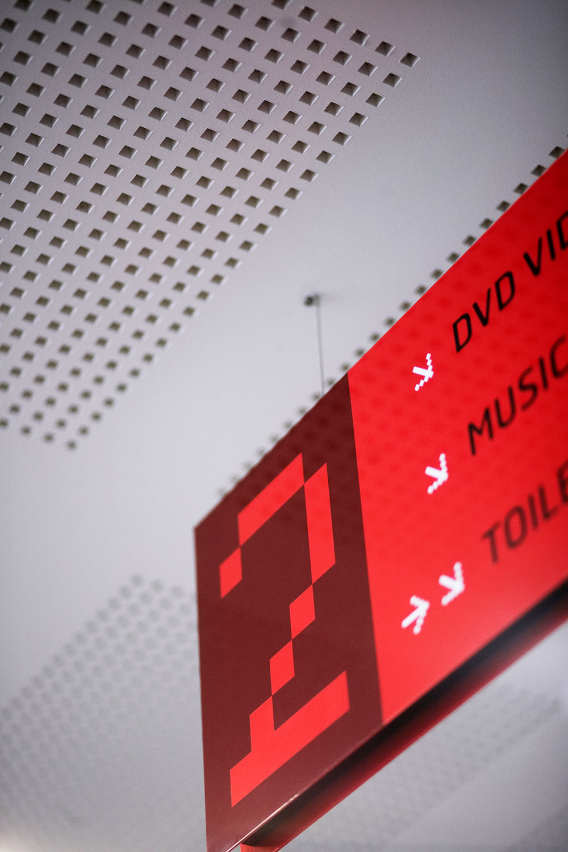 ECU Library – Wayfinding Signage