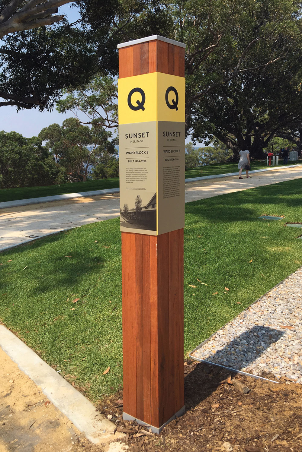 Sunset Heritage Precinct – Interpretive Signage