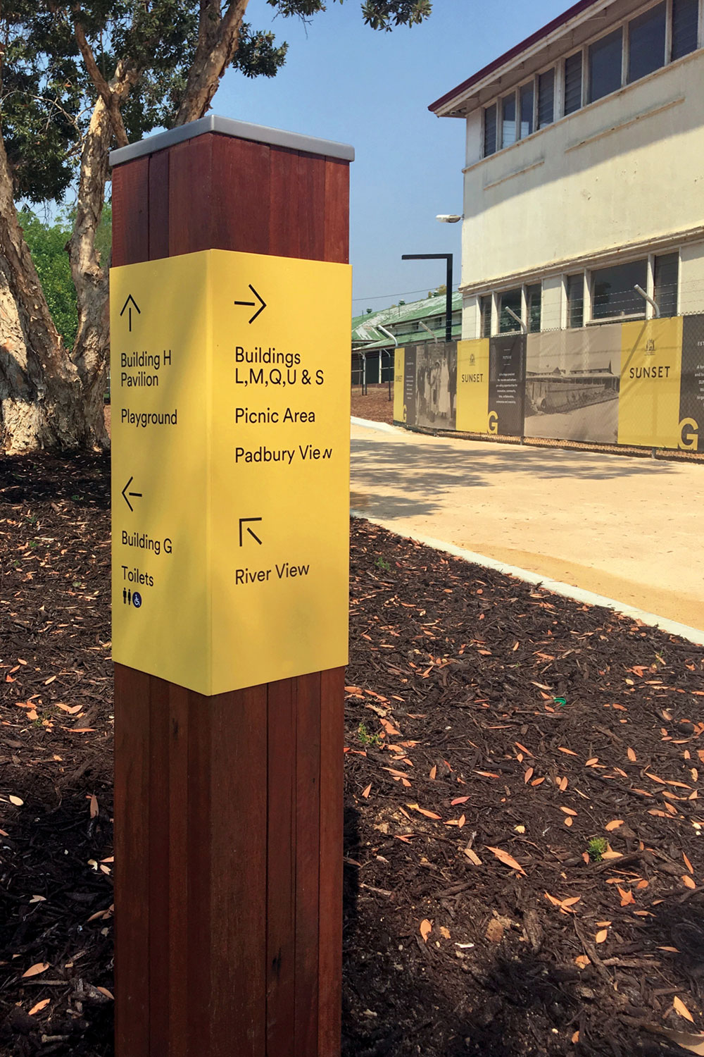 Sunset Heritage Precinct – Wayfinding Signage and Hoarding