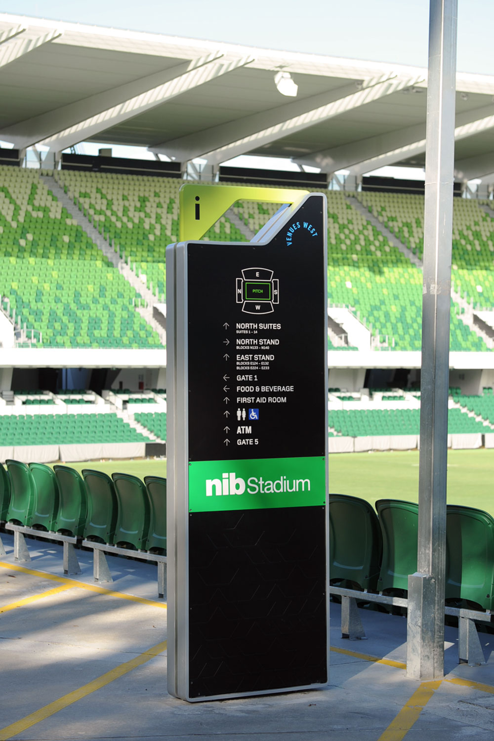 Perth Rectangular Stadium – Wayfinding Signage