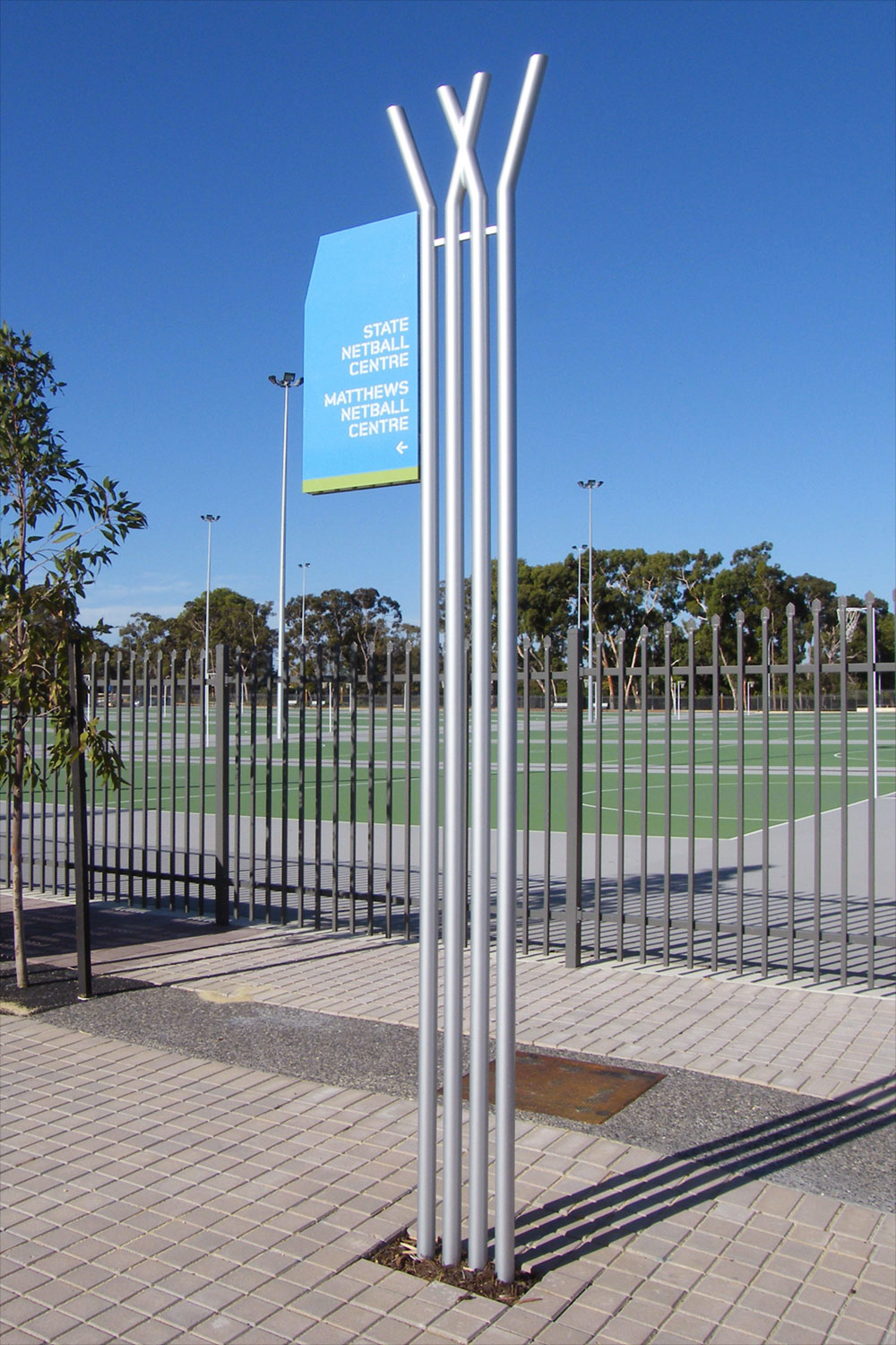 Wembley Sports Park – Wayfinding Signage
