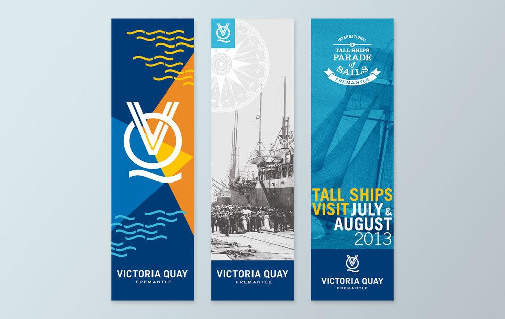 Victoria Quay – Banners