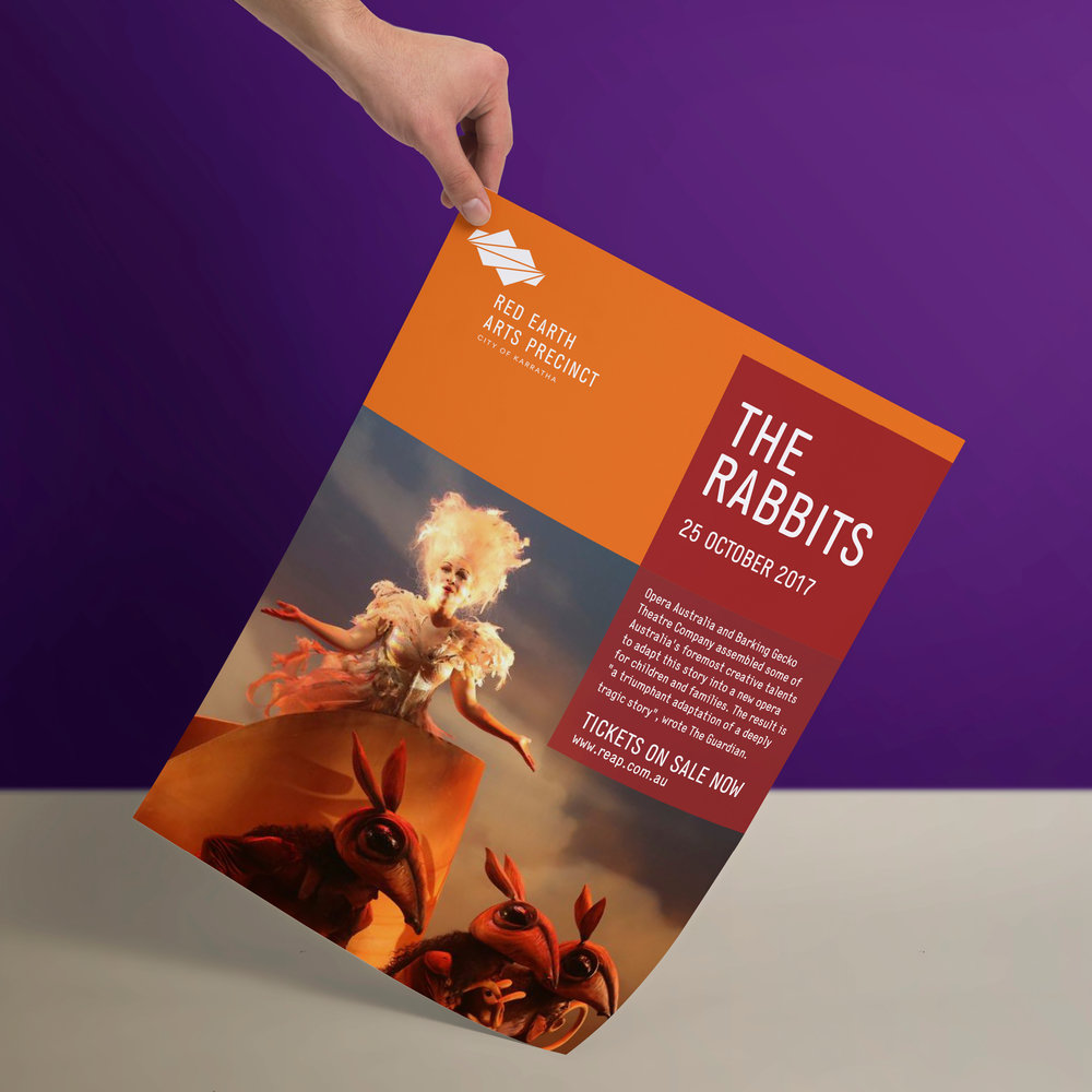 Red Earth Arts Precinct – Poster