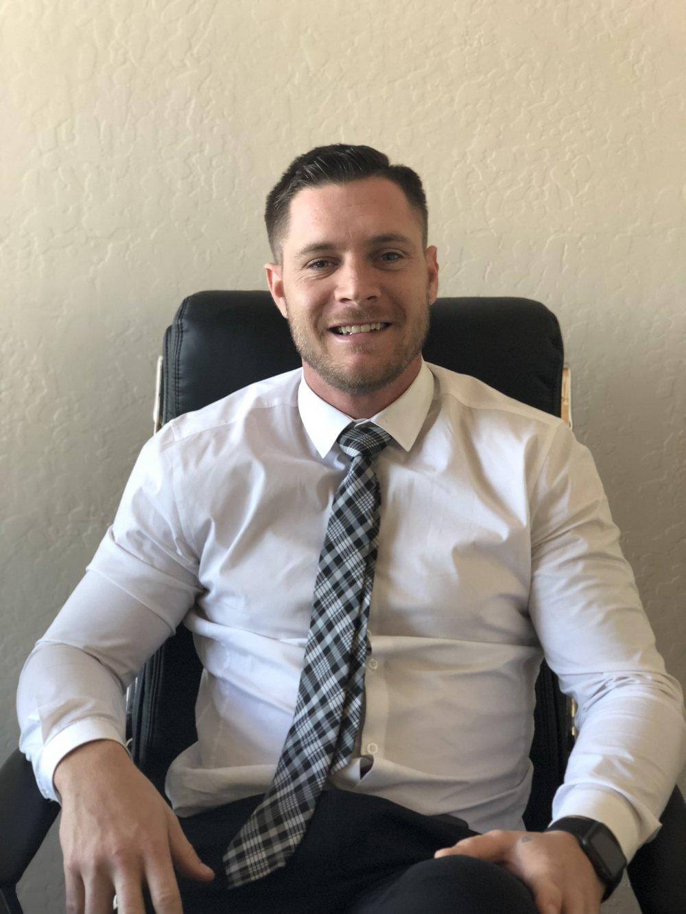 Scott Brunst - Director of Admissions