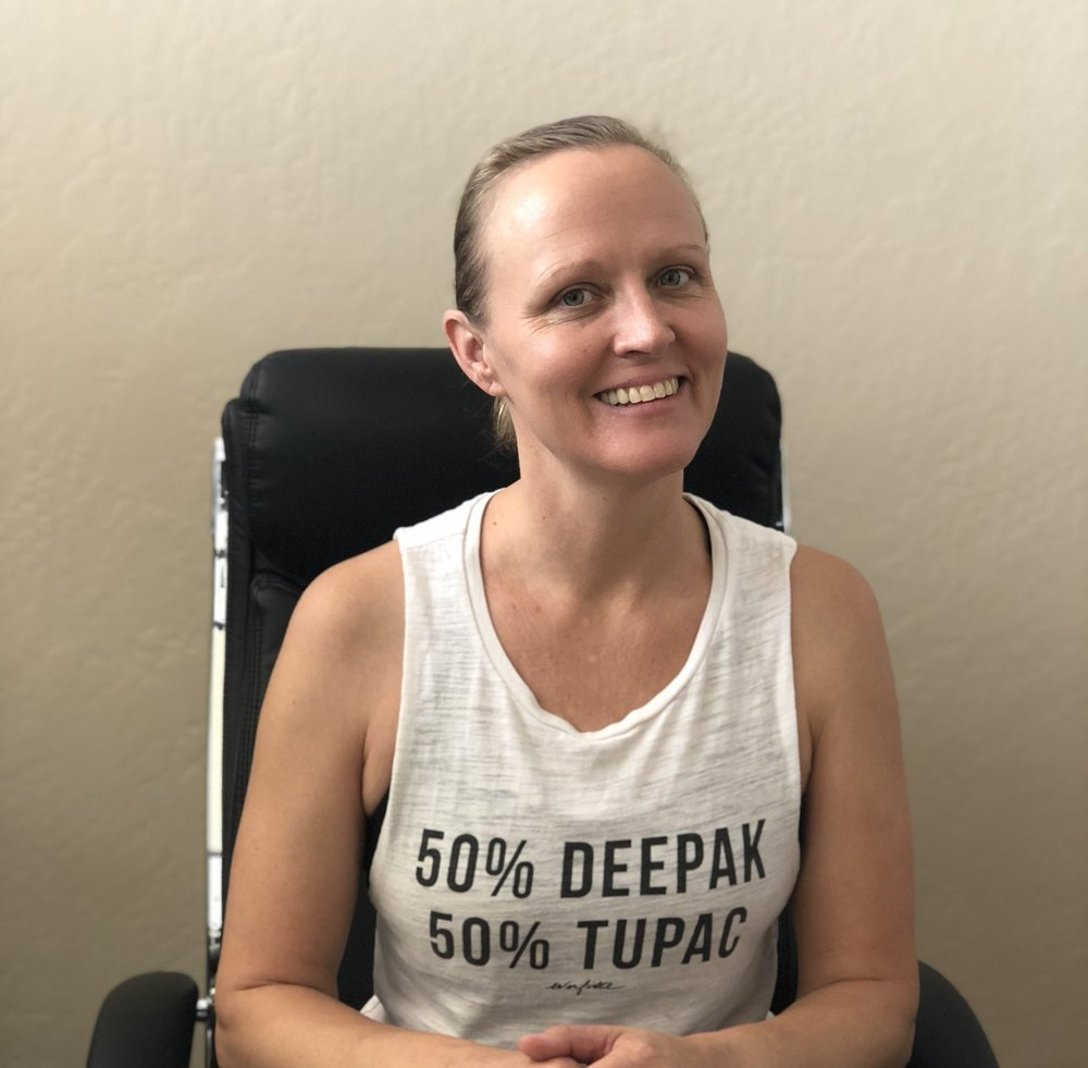 Sharmyn Townsend - 12 Step Yoga Therapist