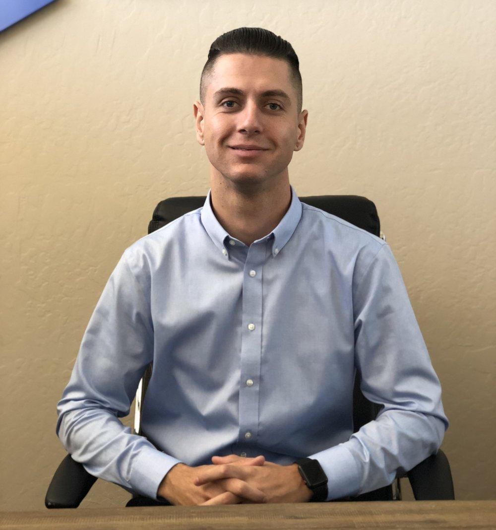 Sead Hasic - Admissions Coordinator