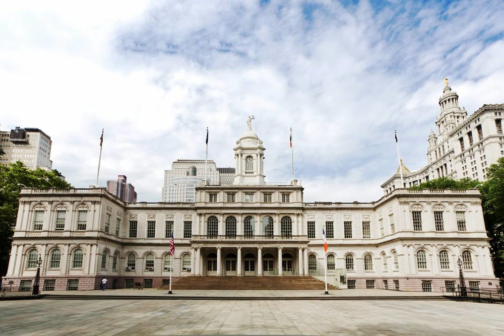 Explore one of the oldest city halls in the country with a free tour, photo via NYC & Company