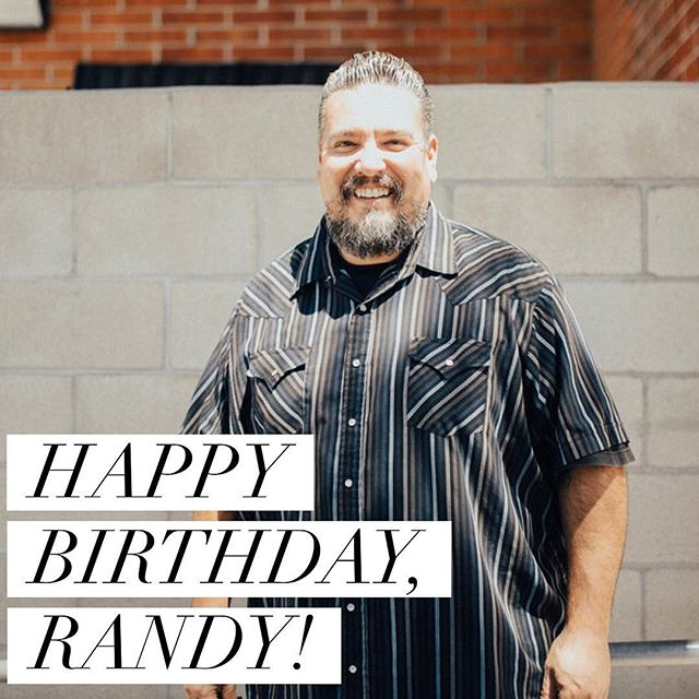 Happy birthday to our Men's Community Director, Randy Cardiel! 🎉 _____ We love you! You and your family bring so much joy and laughter to this family. Thank you for all you do!