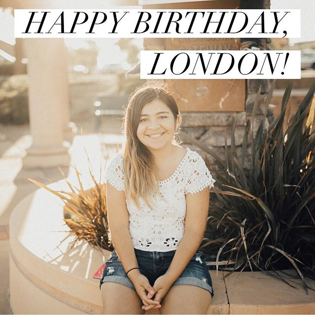 Happy birthday to our Middle School Director, London Adams! 🎉 ____ Your passion is inspiring. Thank you for all you do. We love you! 🎂