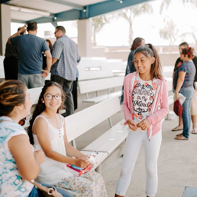 Good morning! Bring the whole family and join us for today's service! ___ 8:30 and 10:30 AM at Alta Loma Junior High 🙌 #ChurchTwo42