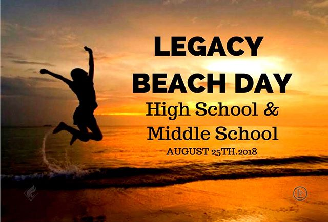Legacy Beach Day is THIS Saturday and we're going to Balboa Beach! Who's coming?! Swipe 👈 for all the details.