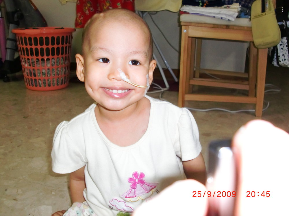 In the midst of the pain, she still fought through. - She would smile to all the nurses and doctors, even after an injection. She loved being with my mom and dad. She loved singing and dancing. She was a bundle of joy. However, we all knew that she was overwhelmed with pain. There were times where she said,