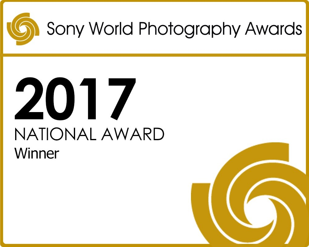 London, UK - 2017 — Sony World Photography Awards & Martin Parr / Somerset House / Group exhibition.