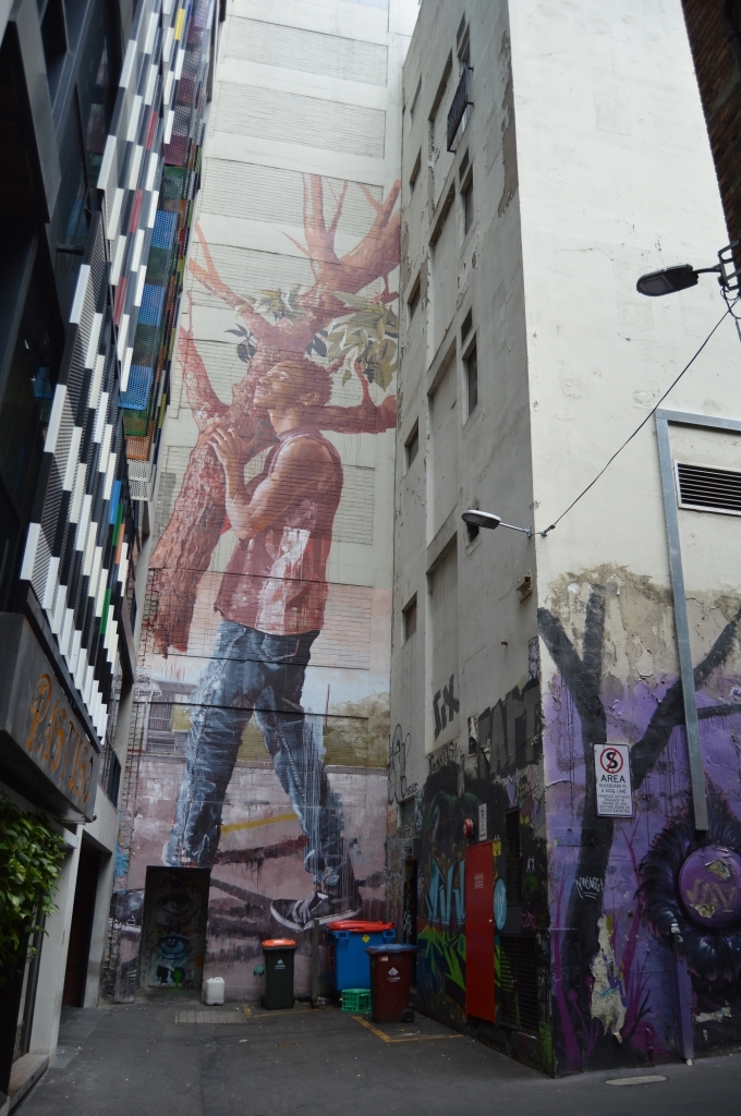 And Melbourne is full of such awesome beautiful graffiti!