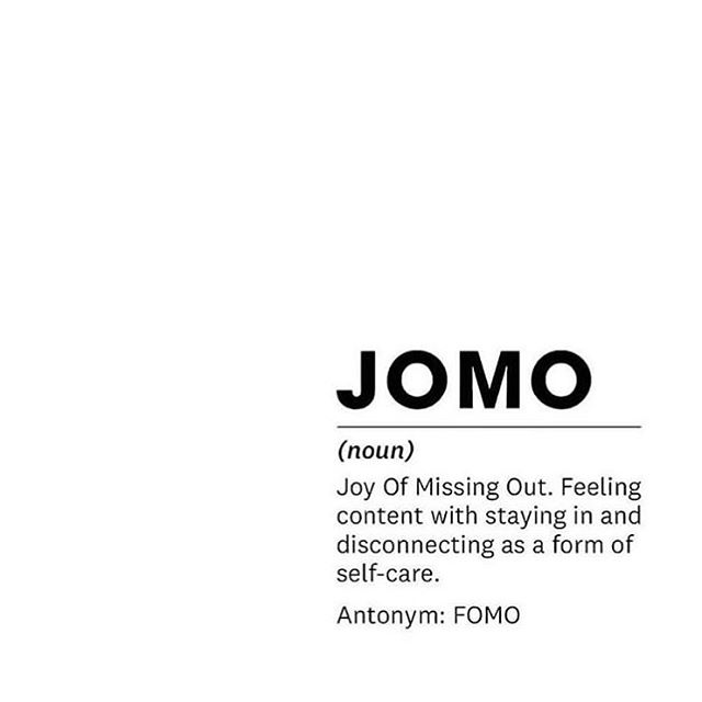 What's on the menu for this weekend? #digitaldetox #ditox #jomo
