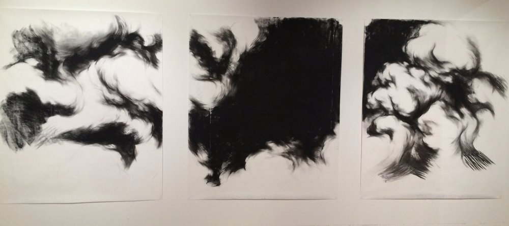 Cloud Study Triptych