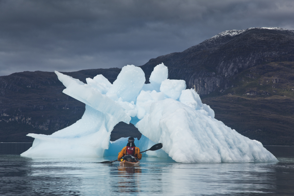Kayaking Patagonia