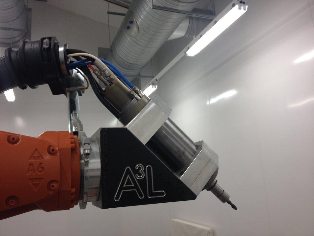 Robotics - Machining   Drilling