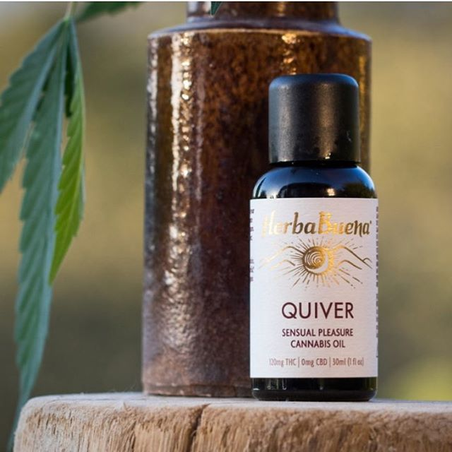 We are STOKED to announce that HerbaBuena is now available again!! Ask for us at your favorite dispensaries across California — our QUIVER sensual oil was named SF Chronicle's BEST INTIMACY PRODUCT 2018. Check out our new website for details: www.HerbaBuena.com
