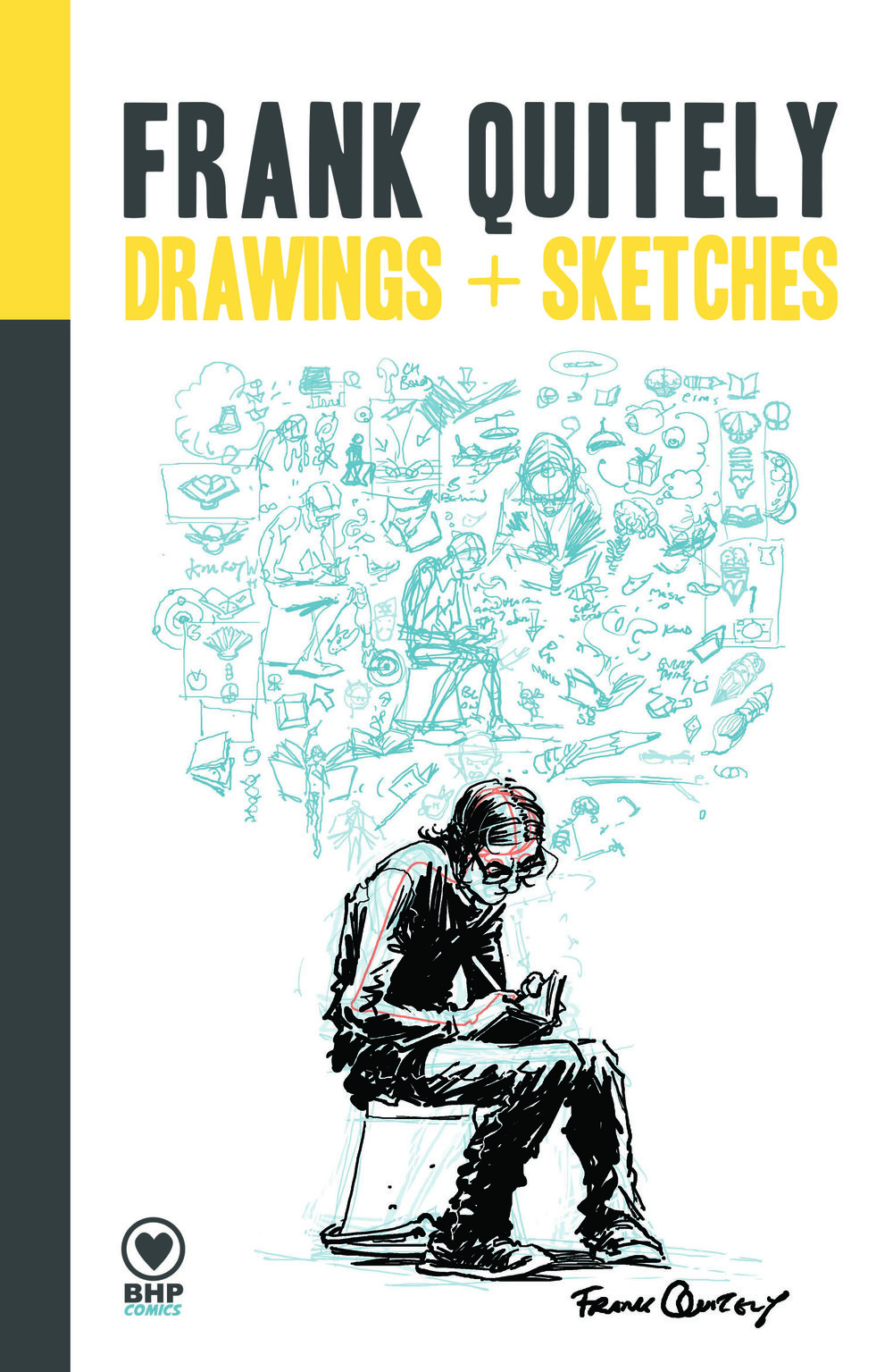Pre-order now open -  We are thrilled to launch the pre-orders for Frank Quitely: Drawings+Sketches, our most recent book from this comics master. Delve through the pages of the private sketchbooks from a comics legend in Frank Quitely: Drawings + Sketches and follow the journey which produced some of the most iconic scenes in contemporary comics. In Drawings + Sketches, Quitely selects some of his favourite behind the scenes moments from such titles as WE3, Pax Americana, Jupiter's Legacy and more. Offering insights into the stories and processes behind them, this hard cover, full colour art book is a beautiful and inspiring must-have for any fan or aspiring comics creator.Pre-order your copy here!