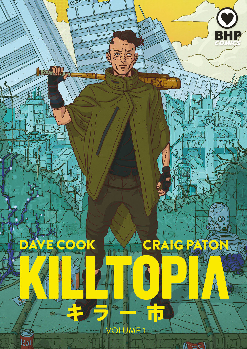 KILLTOPIA hits the shops - KILLTOPIA's big release day is here! Your pre-orders are in the post and the books are in the shops! You can get your copy directly from us (help an indie publisher out) or from amazon, Waterstones or your local comic store!'A slam dunk' Geek Native'an exciting and innovative indie comic' PipeDream'There is nothing here that fails to impress.' Tripwire''more than worthy of taking its place alongside the litany of classics that inspired it.' Starburst