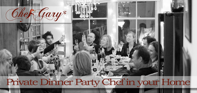 ChefGary Private chef dining
