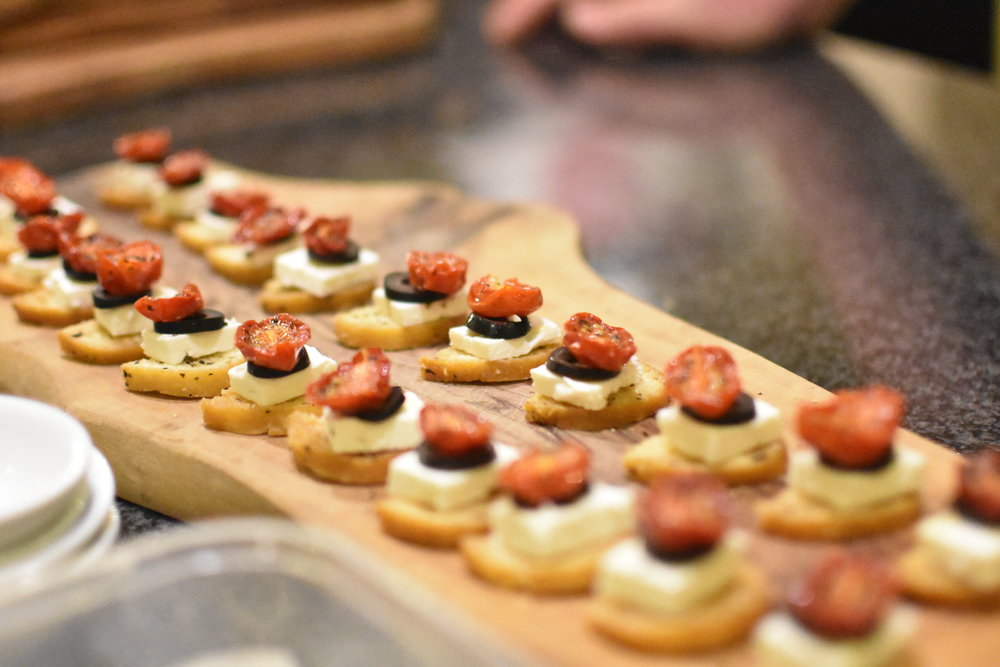 ChefGary Canapes