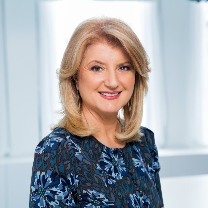 Arianna Huffington - Editor-in-Chief of The Huffington Post and Guest Speaker