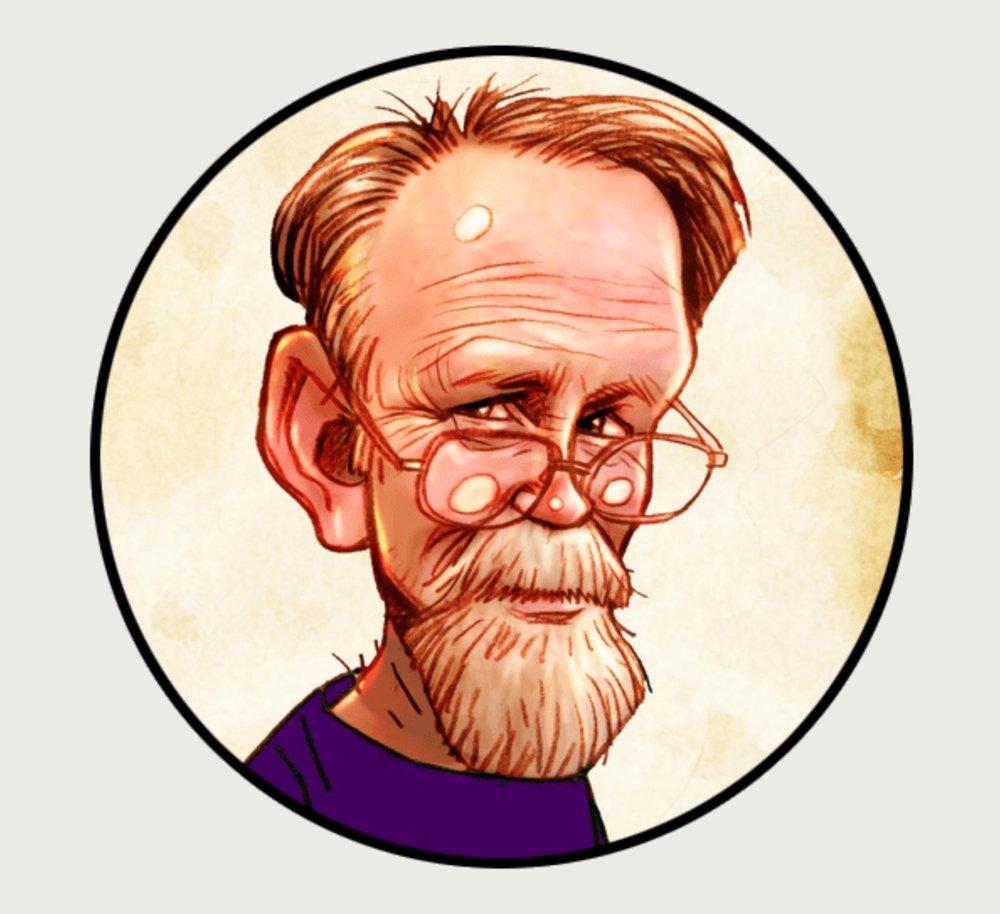 漫画版Jim Bridges 图片来源:www.theaustraliancartoonmuseum.com.au/about/