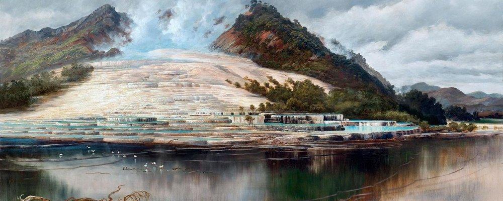 "Charles Blomfield's ""Pink Terraces"" (1886) (图片来源: PAINTING/Alamy Stock Photo)"