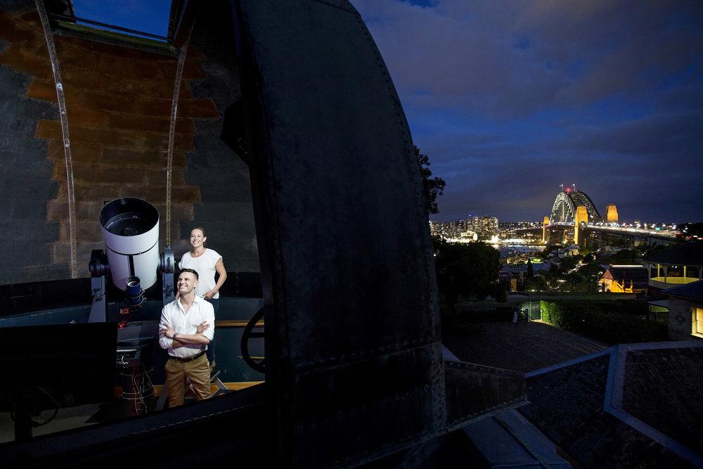 悉尼天文台,图片来自博物馆官方网站