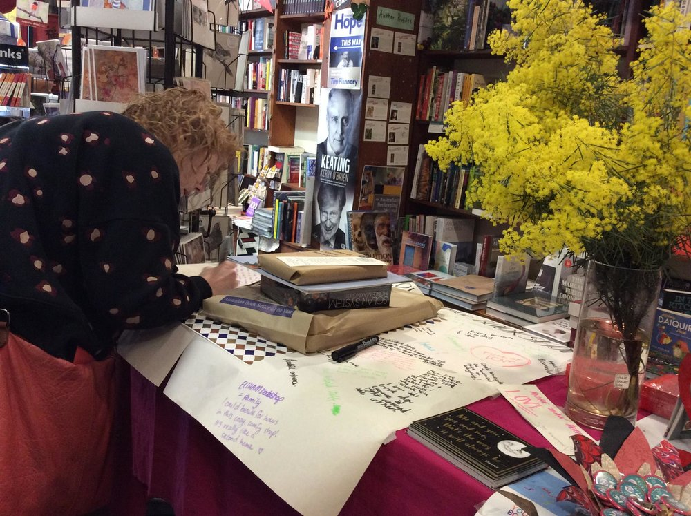 Eltham Bookshop。图片来自书店脸书