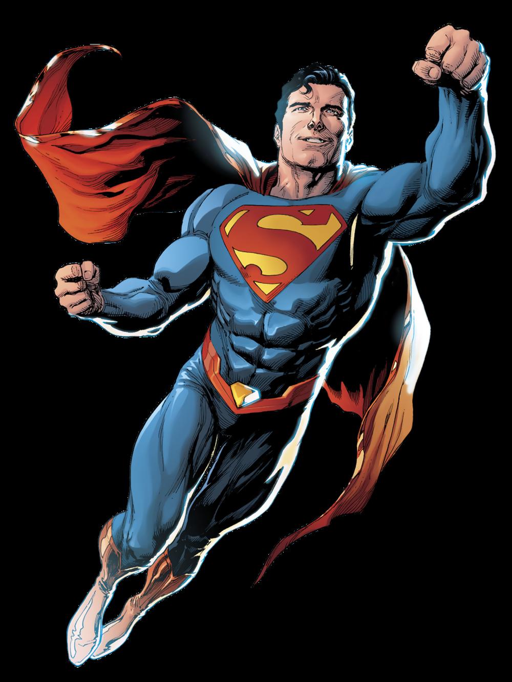 漫画中的超人形象