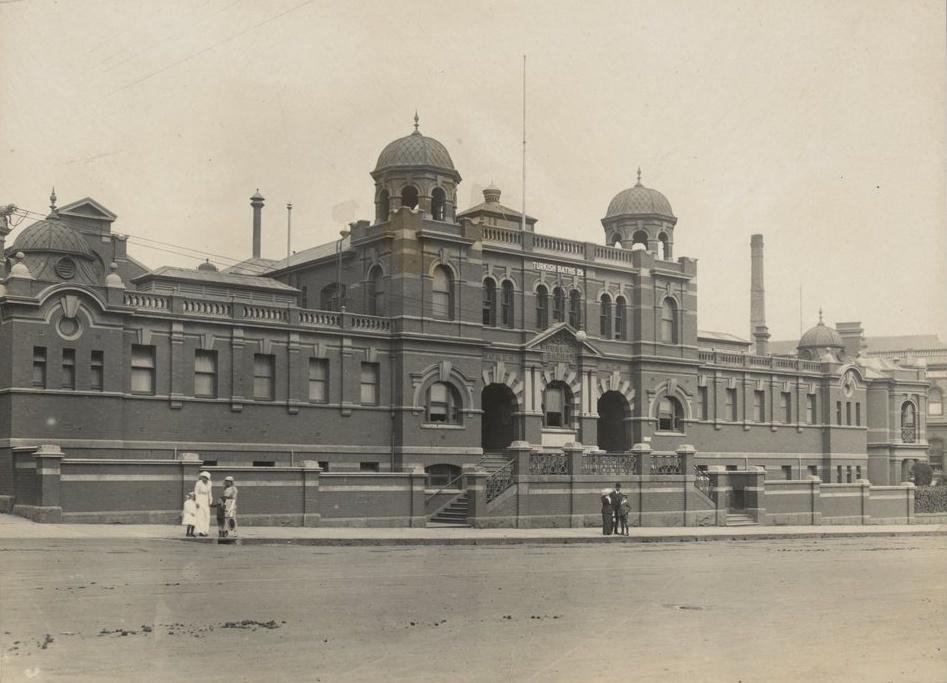 1914年城市浴场 (墨尔本州立图书馆)