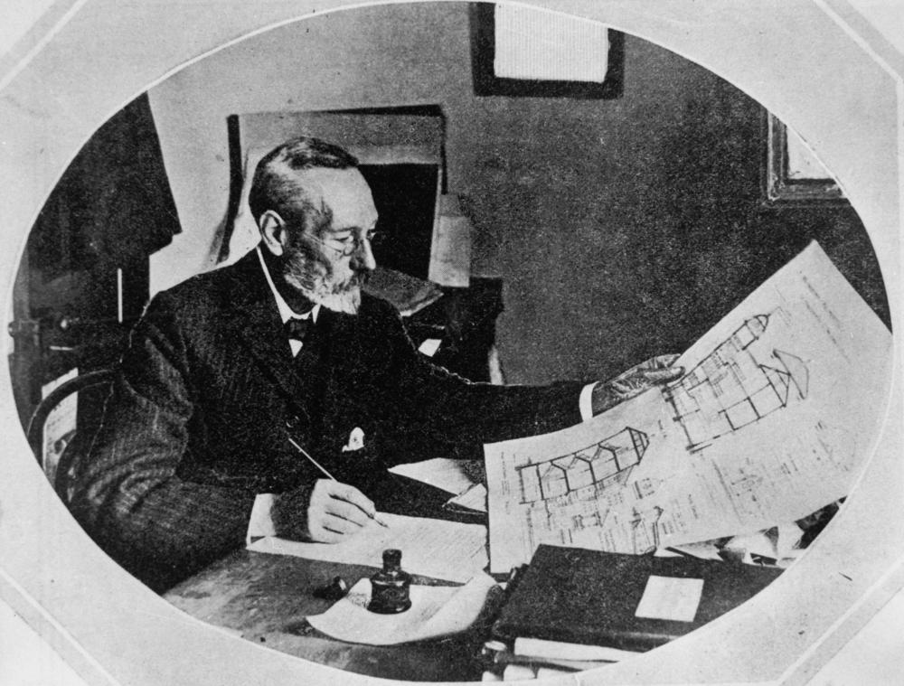 建筑师 John Clark (昆士兰州立图书馆)