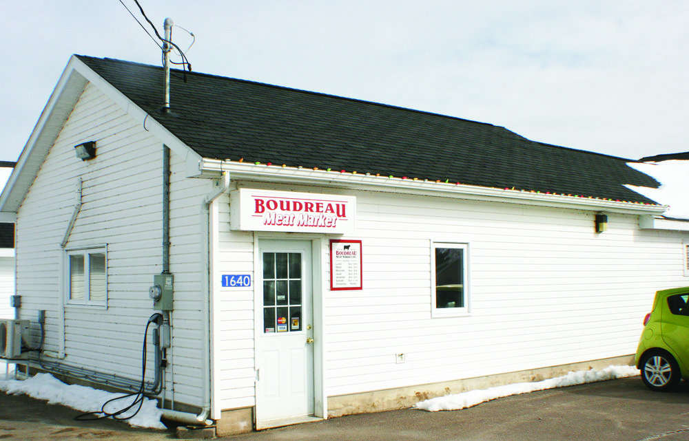 The Boudreau farm has an onsite meat market, which stocks hormone-free beef, turkeys in season, and some chicken. (Joan LeBlanc photo)