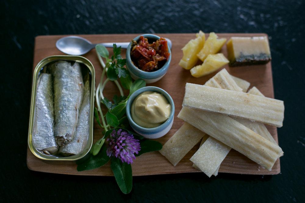 Sardine plate