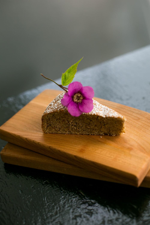 buckwheat tea cake (Gluten Free)