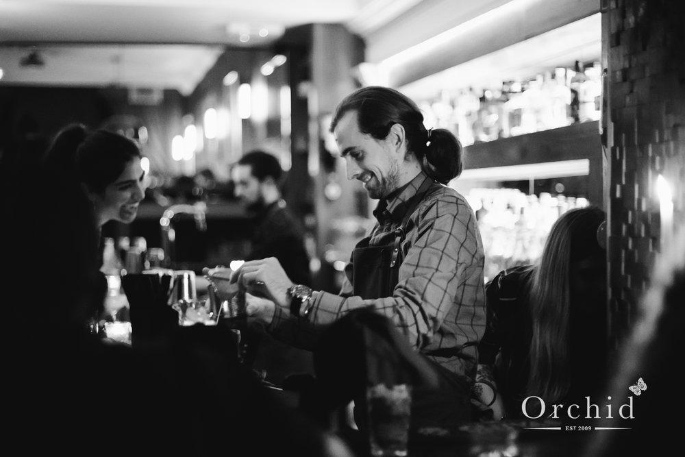 Adam 'Herman' Gray - Bartender