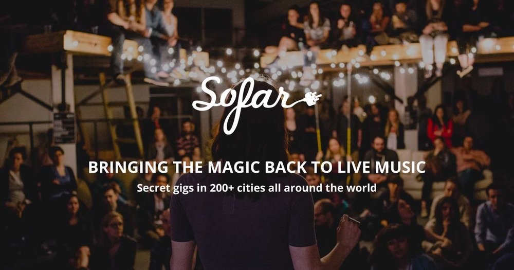Sofar Sounds - 06th September - MoorgateThis event is currently sold out, keep an eye out for the next one here.Rak-Su x