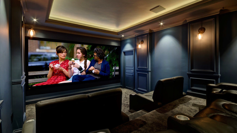 Image courtesy of  Bespoke Home Cinemas , Leeds