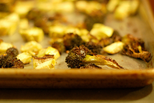 roasted broccolli