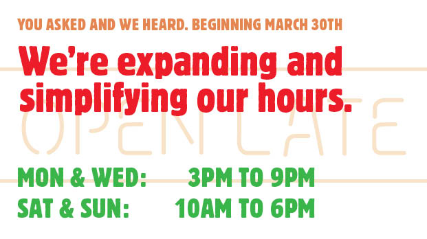 New Hours_March 2015