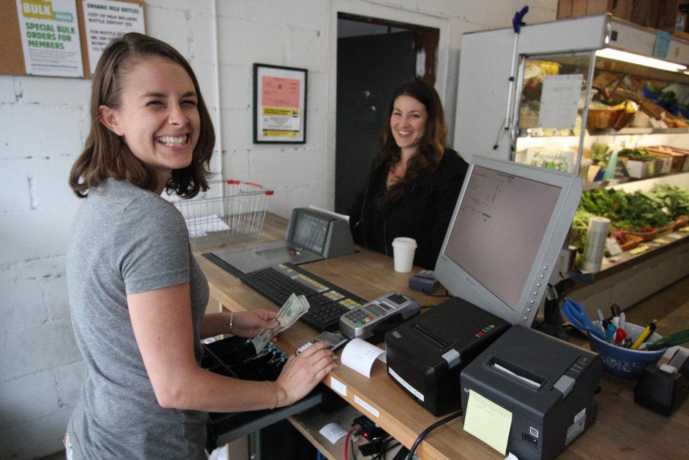 member-cashier